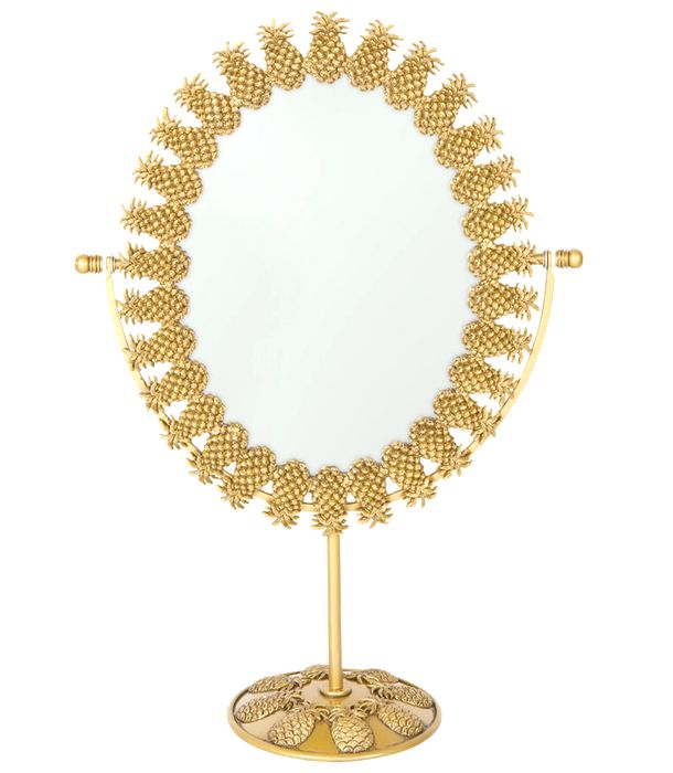 Vanity Must-Have: Pineapple Mirror: Mirror Zara, Pineapple Mirror I, Pineapple Vanity, Doe Deer Vintage, Vanity Mirrors, Vintage Pineapple, Pineapple Bathroom, Pineapple Bedroom
