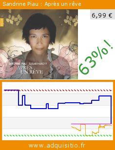 Sandrine Piau : Après un rêve (CD). Réduction de 63%! Prix actuel 6,99 €, l'ancien prix était de 18,99 €. http://www.adquisitio.fr/naive-classique/sandrine-piau-apr%C3%A8s-r%C3%AAve