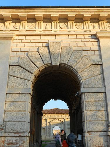 palazzo Te a Mantova - Giulio Romano    #TuscanyAgriturismoGiratola