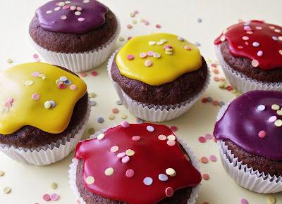 Citromhab: Gesztenyés muffin
