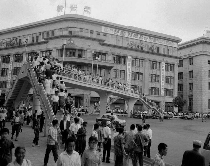 Seoul 1966: Shinsegae Department Store