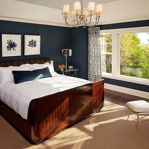 Art over Bed, Contemporary, bedroom, Martha O'Hara Interiors