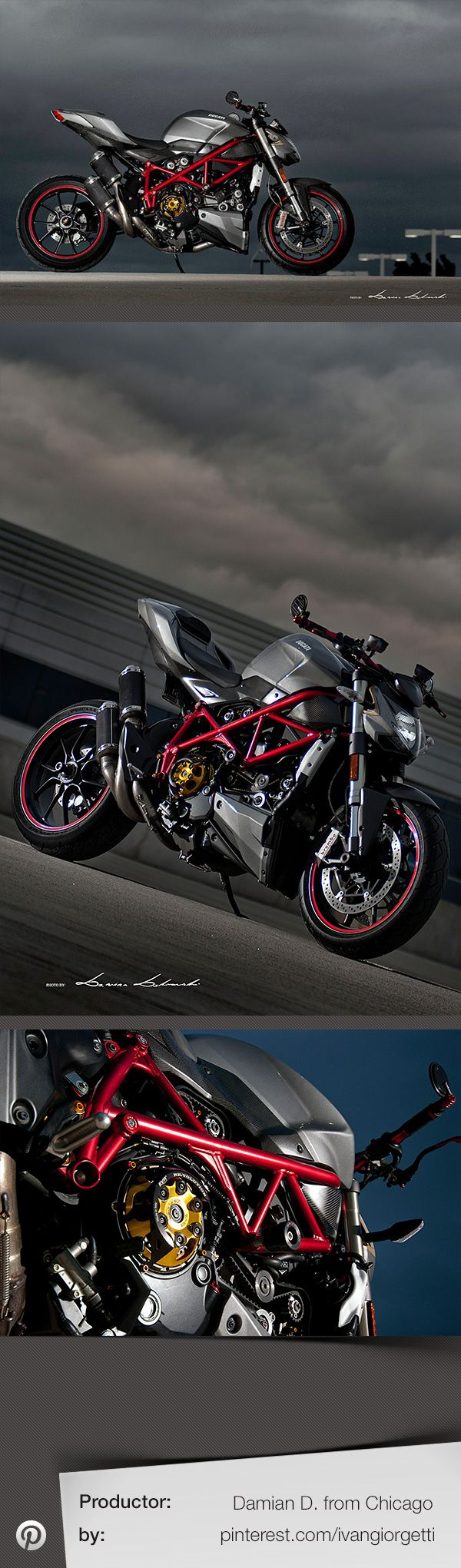 Ducati Streetfighter S by Damian Dabrowski from Chicago