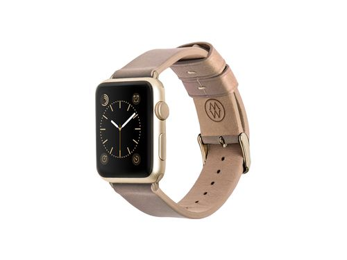 Monowear crème leather band - Apple Watch