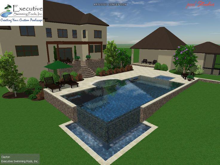 62 best Custom Pool Designs images on Pinterest | Pool designs ...