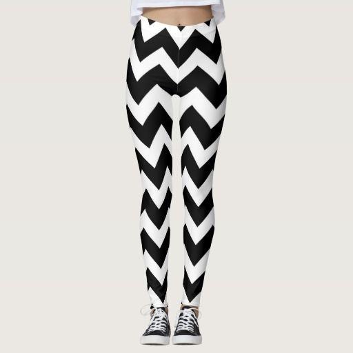 Designers stylish leggings : black and white
