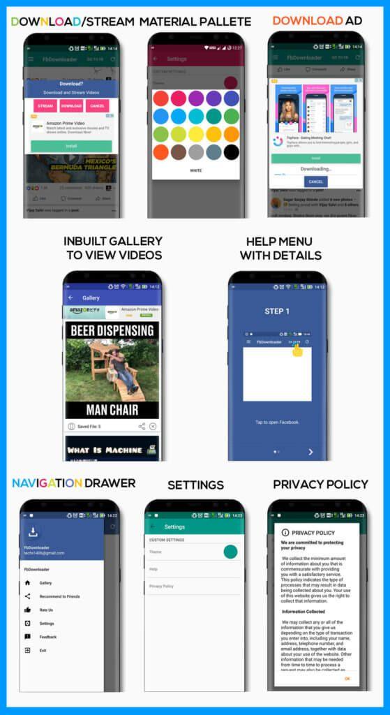 Latest Premium Facebook Downloader Android CodeI Love Deshi   I Love