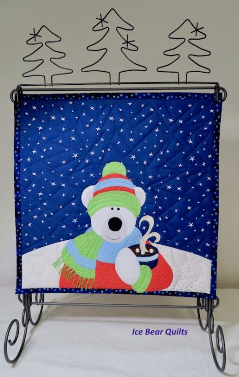 """Twelve by 12"""" by 12"""": December Quilt"""