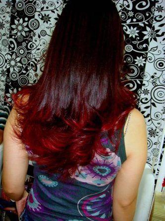 Luzes californianas vermelhas com cabelo avermelhado  [14]