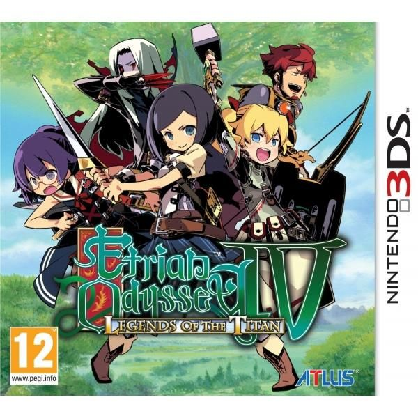 Etrian Odyssey IV (4 Four) Legends Of The Titan Game 3DS | http://gamesactions.com shares #new #latest #videogames #games for #pc #psp #ps3 #wii #xbox #nintendo #3ds