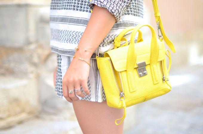 Blog Mode Lyon - PARIS GRENOBLE: Yellow Keffieh - Bracelet Marion Bartoli by MATY