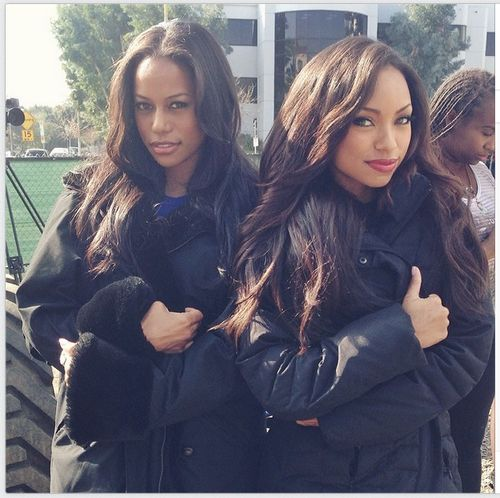 Hit The Floor stars Logan Browning and Taylour Paige