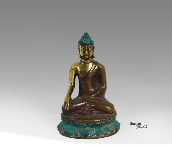 Buddha Bhumisparsa Mudra 3.75 Meditating Seated by BorneoHunters