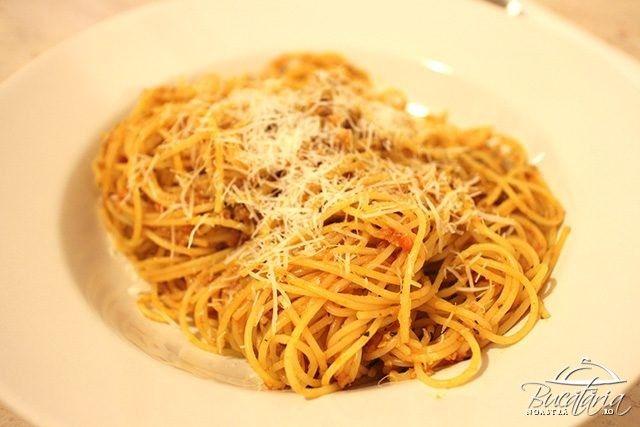 Spaghete bolognese rapide!