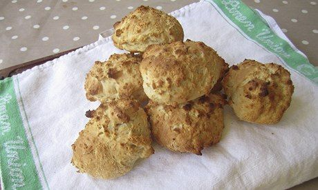 Ginger beer scones. Photographs: Claire Thomson