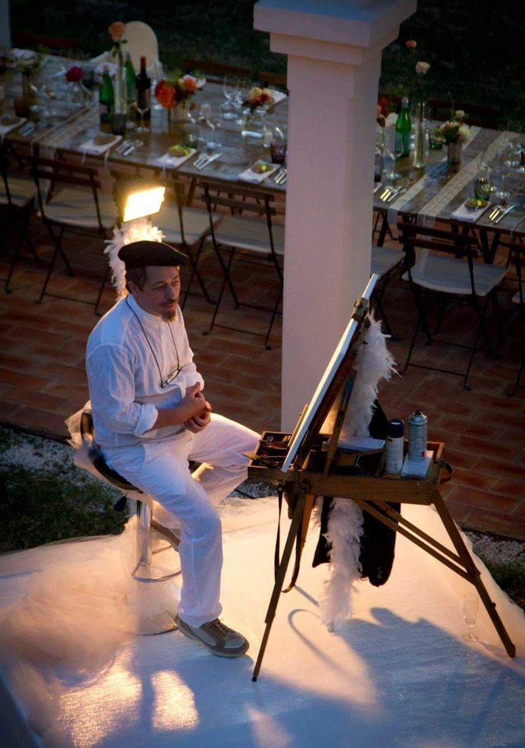 Ritratti in eventi | Altamiradecor, bottega d'arte di Franco Pagliarulo
