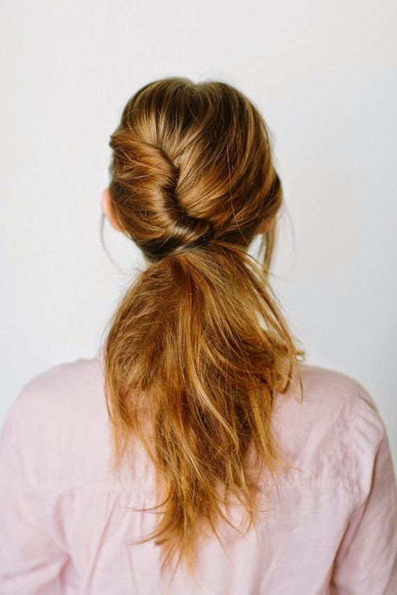 Put a twist in your pony! #hairstyle #beauty