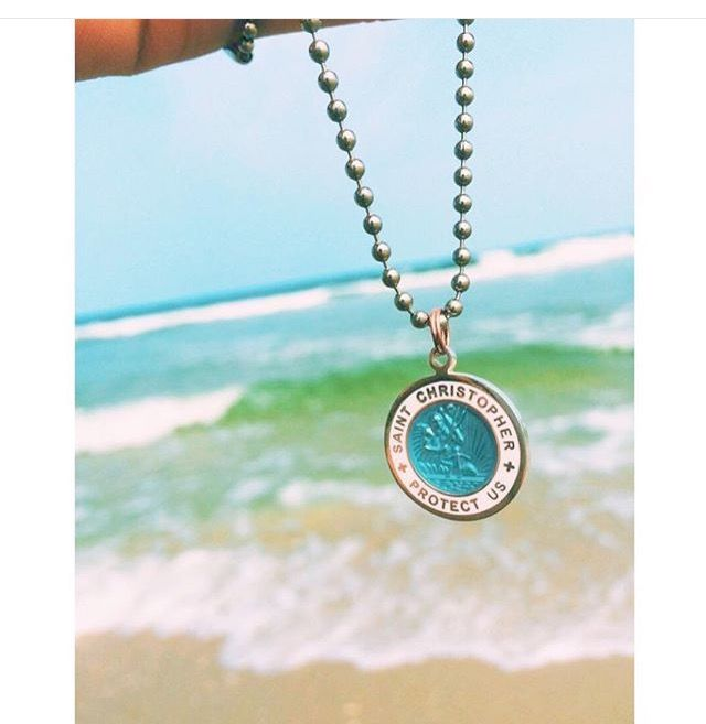 Travels with Saint Christopher and a Discount from Get Back Supply Co. - Use code: GETBACKINTHESAND for 10% off your very own St. Christopher pendant.