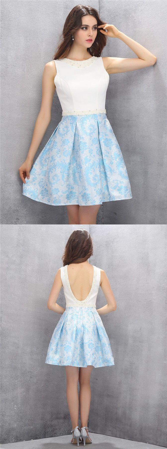 Blue Semi Formal Dresses Teenage Girls Fashion Dresses
