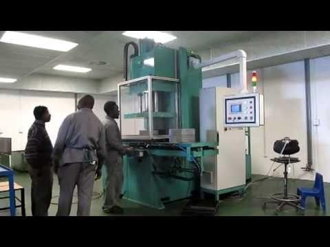 Modtech 'C' Frame type 50 Ton Wax Injection Machine