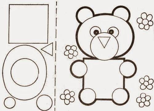 trabalhando formas geométricas de modo divertido, montando animais! Kandinsky