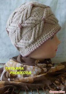 Зимняя шапочка для себя любимой - В.Г.У. - Вязаные Головные Уборы - Страна Мам