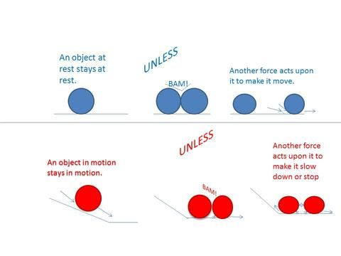 newtons 1st law diagram 13 best forces vocab images on pinterest   the picture ... lenz's law diagram