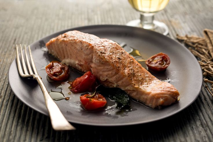 NYT Cooking: Salmon and Tomatoes in Foil