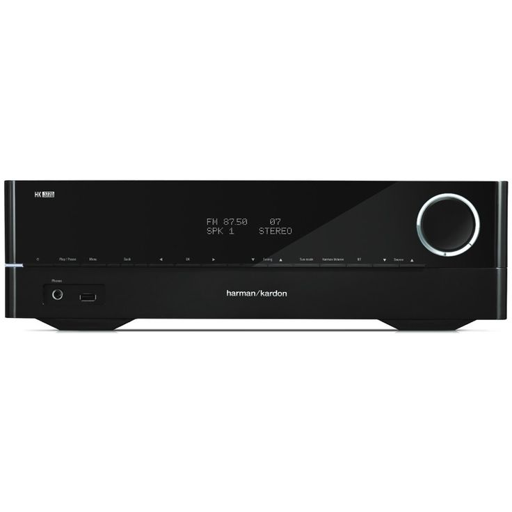 HARMAN/KARDON HK3770 Network Stereo Receiver with Bluetooth