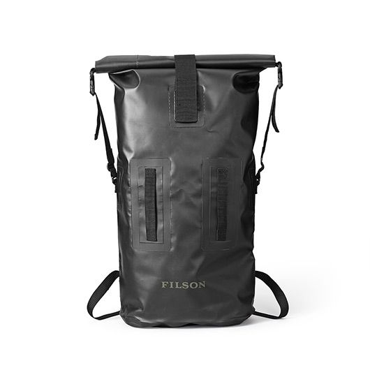 The Dry Duffle Backpack in Black