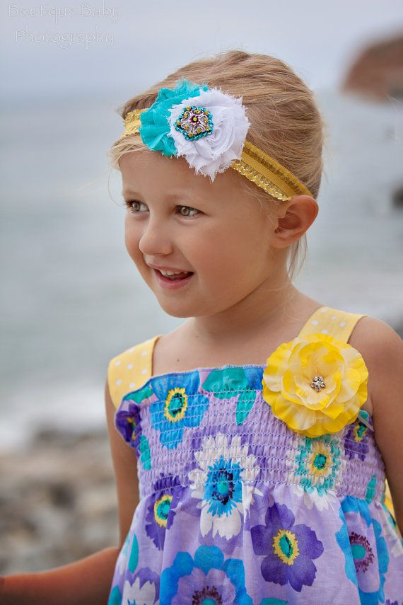 Girls Boutique Headband....Girls Couture by Snugglebugkidz on Etsy, $14.99