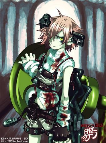 Anime Zombie Characters : Best images about guilty gear on pinterest
