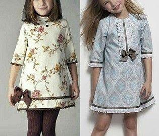 Выкройка детского платья с рукавом 3/4 на возраст от 1 года до 14 лет (Шитье и крой) | Журнал Вдохновение Рукодельницы