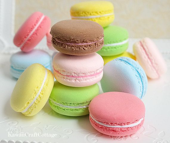 1:3 Scale Miniature Food Fake Macarons, French Macaron, Faux Macaroons, Macaroon, Fake Food, Photo props, Shop Displays, DIY craft, American Girl Doll, AGD, BJD, Azone, Doll playscale food,  Miniatures, Macaroon, Macaron, Accessory, Macaroons, tea party, photo prop, photo props, Party Decoration, wedding, birthday, fake food, party decor, party favors, backdrops, party props