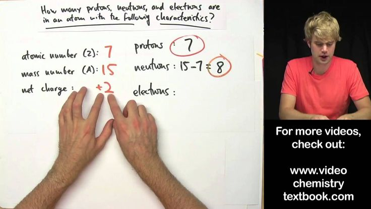 Practice Problems: Net Charge, Mass Number, Atomic Number | Tyler DeWitt (Module #5)