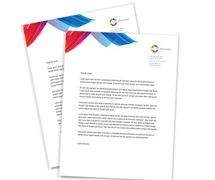 12 best Letterhead images on Pinterest Free letterhead templates - free letterhead templates for word