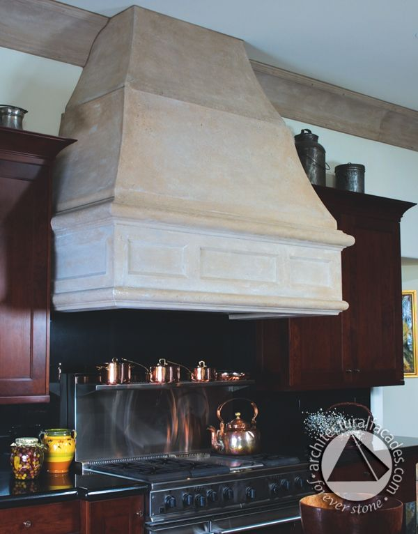 Striking kitchen hood - great color and finish choices.