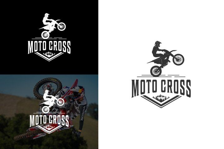 Moto Cross Action Active Background Bike Biker Chopper Competition Cross Cycle Design