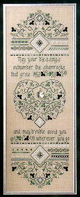 Irish Blessing Sampler - Cross Stitch Pattern  by Sweetheart Tree