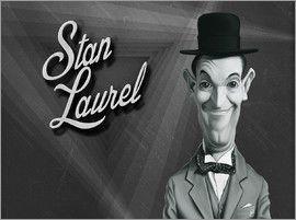 Rob Snow | caricatures - Stan Laurel art | decor | wall art | inspiration | caricatures | home decor | idea | humor | gifts