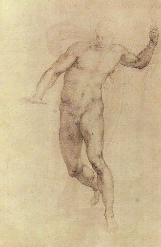 Воскресший Христос Микеланджело. Воскресший Христос. 1532-1534. Британский музей