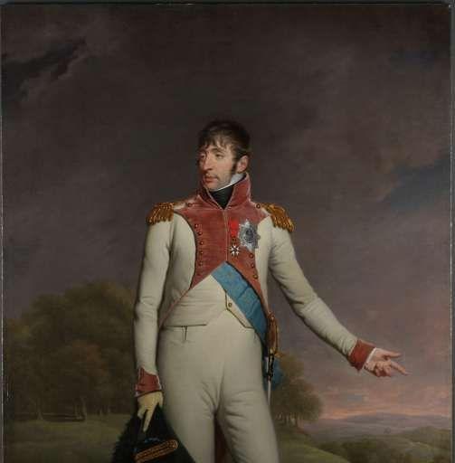 Portret van Lodewijk Napoleon, koning van Holland, Charles Howard Hodges, 1809 - Rijksmuseum