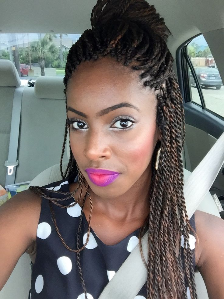 ... on Pinterest Twists, Senegalese twist hairstyles and Twist braids