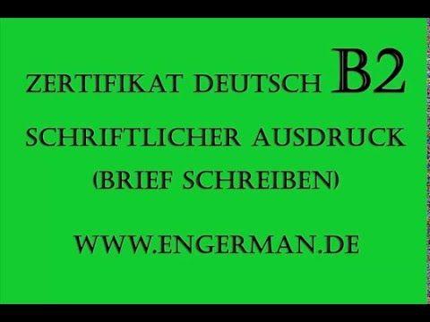 1000+ Ideas About Brief Deutsch On Pinterest | German Grammar