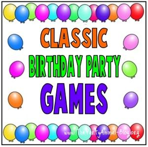 Classic Birthday Party Games