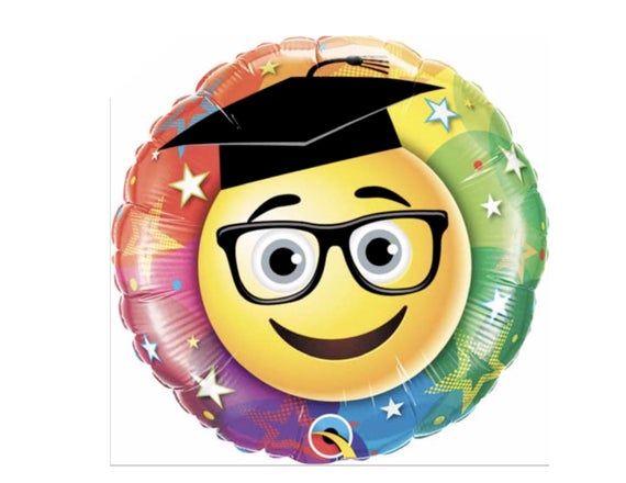 Smiley Grad Balloon Etsy Smiley Balloons Graduation Balloons