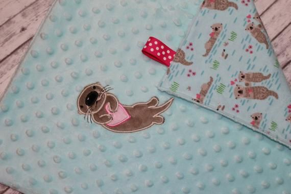 Baby Otters Minky