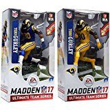 Amazon.com: McFarlane Toys EA Sports Madden NFL 17 Ultimate Team Todd Gurley Los Angeles Rams Action Figure Color Rush Uniform Chase Variant: Toys & Games
