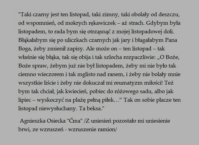"""Agnieszka Osiecka """"Ćma"""""""