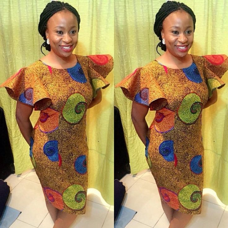 Ankara Styles: They Are Trendsetting And Unique - Wedding Digest Naija  Check out Latest Aso ebi Styles http://www.dezangozone.com